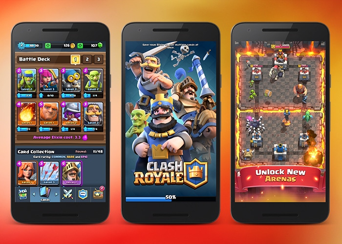 Clash Royale, the new game from Supercell, now available for