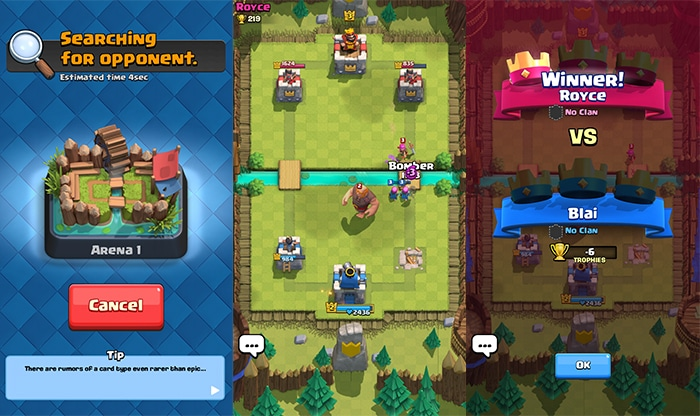 Clash Royale Battleground