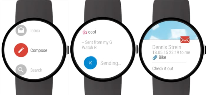 Mail for Android Wear